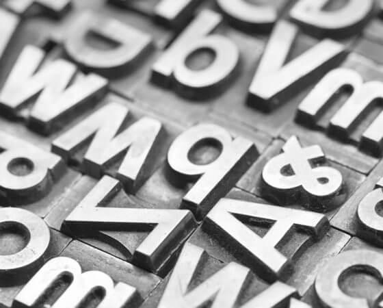 Buchstabensalat
